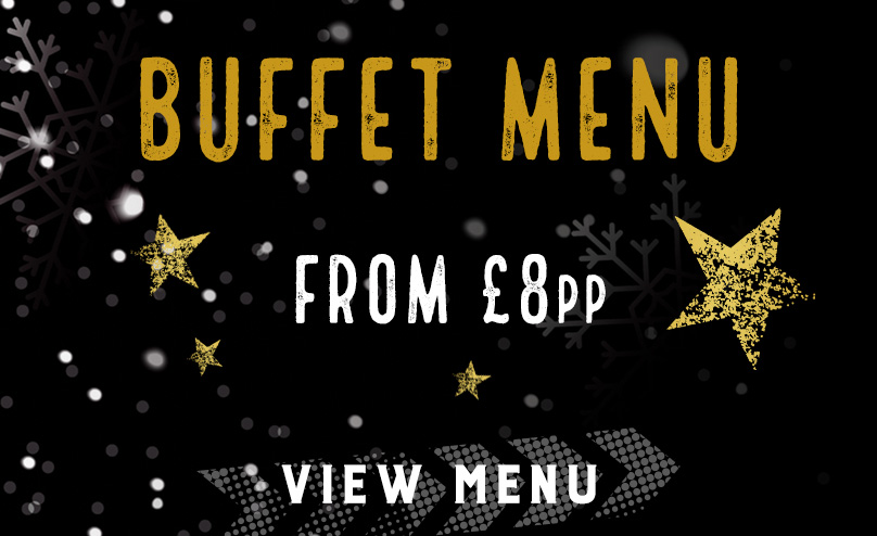 Festive buffet menu at The Plough