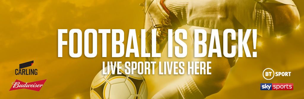 Watch live football at The Plough