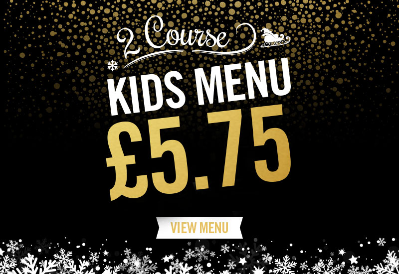 Kids Festive Menu at The Plough